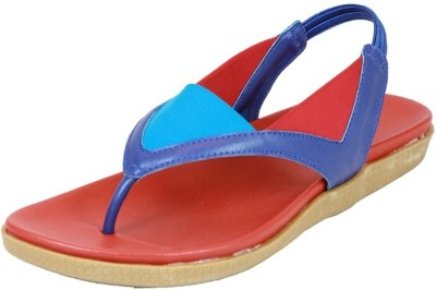 Small Toes Baby Girls Blue Flats