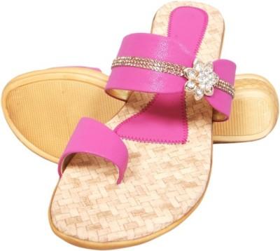 Midaspinkcity Girls Pink Sandals