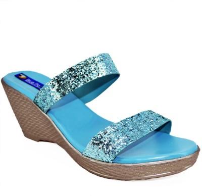 BLUE PARROT Women Blue Wedges