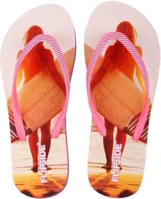 Flipside Beach Pink Women Pink Flats