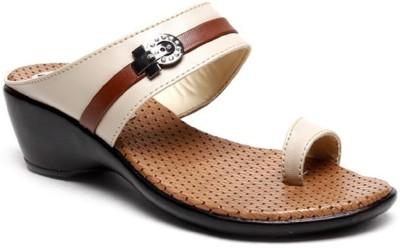 Shoekool Women Beige Heels