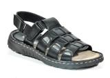 Big King Men Black Sandals