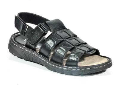 Kohinoor Mobile Got Men Black Sandals