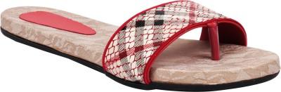 Pink 18 Women Red Flats