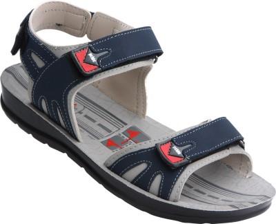 VKC Men Blue, Grey Sandals