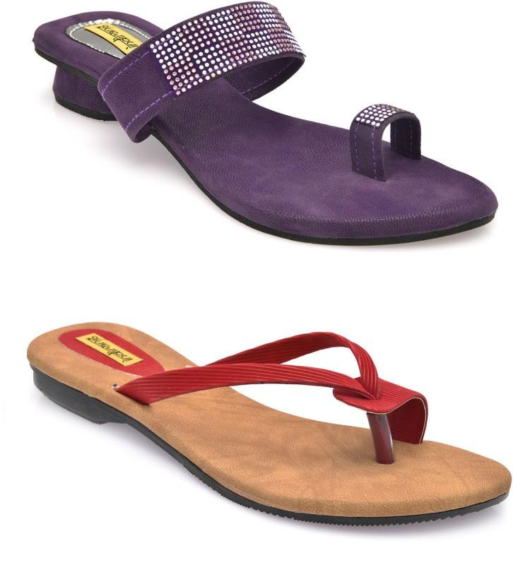 Indirang Women Multicolor Flats SNDEJF5WKEHCFJ4M