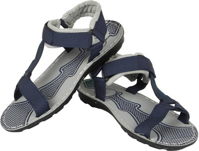 Vivaan Footwear Blue-810 Men Blue Sandals