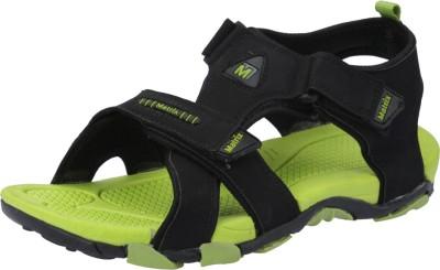 Matrix Men Green, Black Sandals