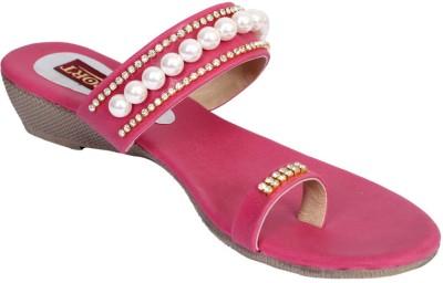 Port Women Pink Wedges