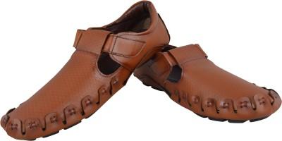 HD Shoes Men Tan Sandals