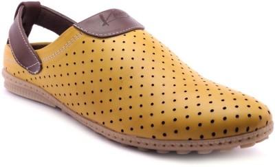 Knoos Men Yellow Sandals