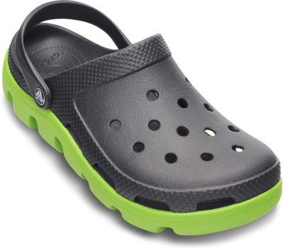Crocs Men Graphite::Volt Green Sandals at flipkart