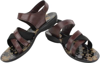 Bersache Women Brown Sports Sandals