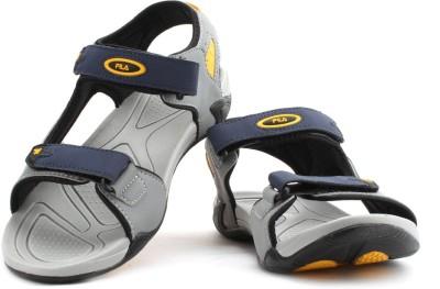 Fila Lauro Men Blue, Grey Sandals
