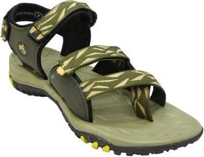 ABS Men Green Sandals