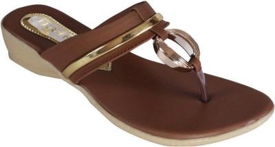Recent Collection Women Brown Wedges