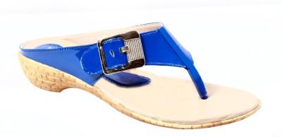 Hansx Women Blue Flats