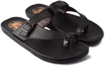 Vanessa Men Black Sandals