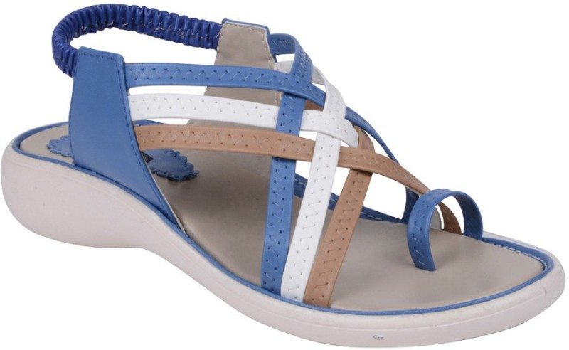 Footshez Women Blue Flats
