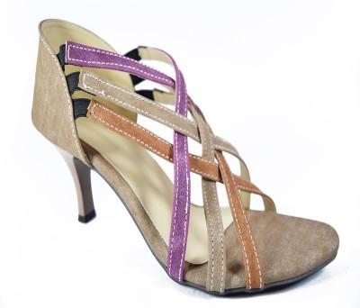 Multi Movin Women Brown Heels