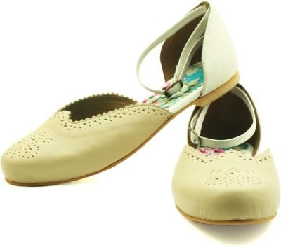 Rhythm & Shoes Women Natural Flats