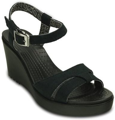 Crocs Women Black Wedges
