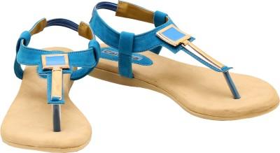 Canvera Women Blue Flats