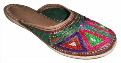 Krafto Women Multicolor Flats