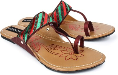 Series From Jove Women Multicolor Flats