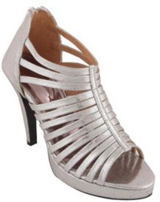 Katalogue Women, Girls Silver Heels