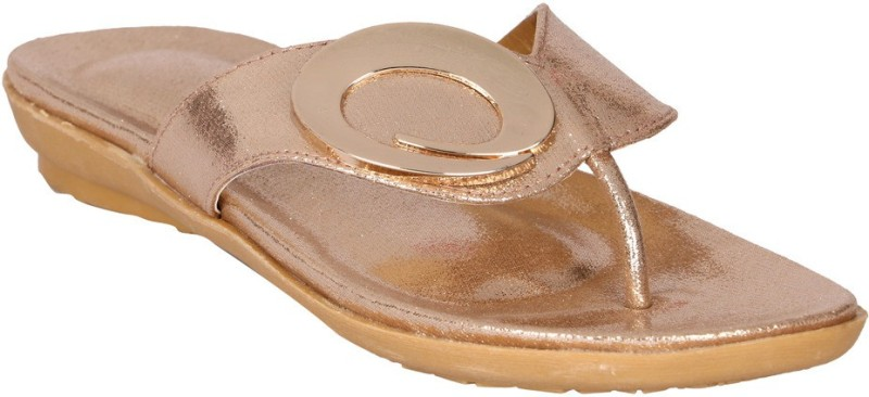 Lotusfeet Women Gold Flats