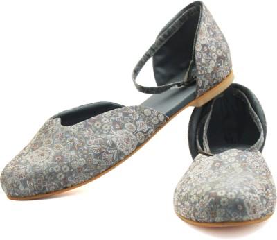 Rhythm & Shoes Women Grey Flats