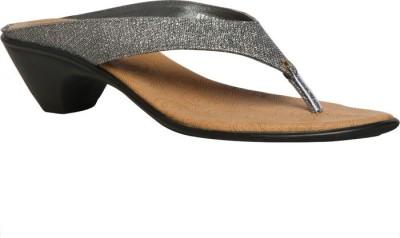 Bata Women Grey Heels