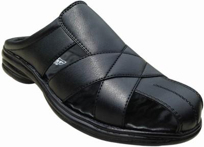 Muskan Men Black Sandals