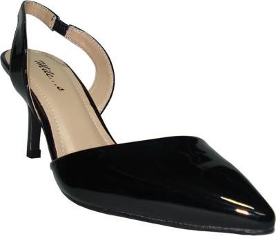Miles Women Black Heels