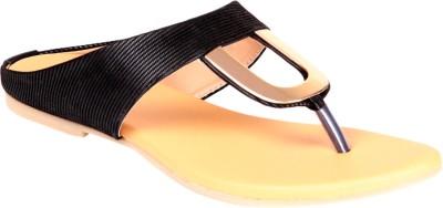 Soft & Sleek U Shape Balck Ballerina Girls Black Flats