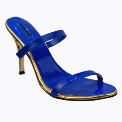 CoalBlack Women Blue Heels