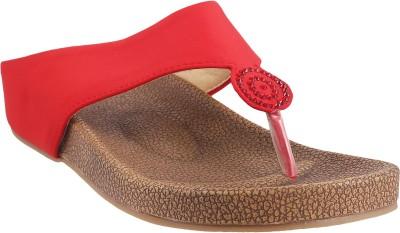 MSL Women Red Flats