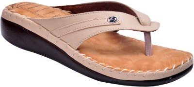 Domestiq Women Beige Flats