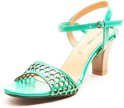 Marc Loire Women Green Heels