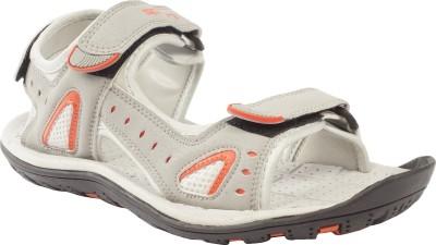 Spinn Women Grey Sports Sandals