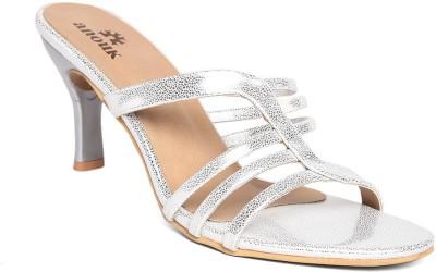 Anouk Women Silver Heels