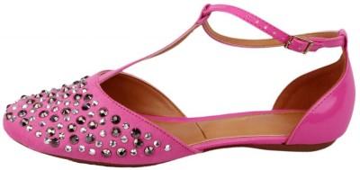 Moda Brasil Women Pink Flats
