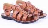 Slice Men Camel Sandals