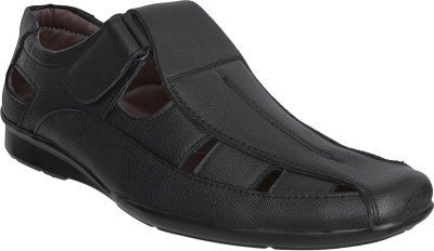 Marshal Men Black Sandals