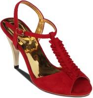 Flora Women Red Heels