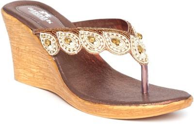 Anouk Women Gold Wedges