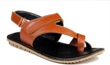 Leather Mart Men Tan Sandals
