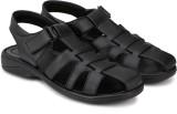 Azzaro Black Men Black Sandals