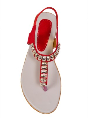 Royal Women Red Flats